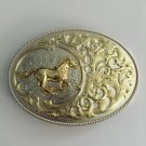 3D Horse Pattern Western Cowboy Belt Buckle Metal Mens Jeans Buckle Fit 4cm Wide Belt
