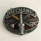 Fashion Mechanic Tool Cowboy Belt Buckle Metal Men Western Leather Belt Head