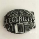 ELECTRICIAN Tool Cowboy Belt Buckle Metal Men Western Leather Belt Head