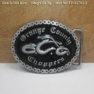 Orange County Cowboy Metal Belt Buckle Mens Jeans Buckle Fit For 4cm Wide Belt