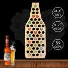 1 Piece Display Map Beer Bottle Cap Map Unique Design Beer Bottle Shape Beer Cap Map Collection