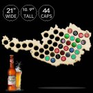 1 Piece Beer Bottle Caps Map of Austria Wall Art For Cap Collector Beer Drinker Wood Crafts