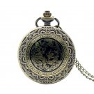 Luxury Watches Gift Dragon And Phoenix Pocket Watch Bronze Pendant Charm Relogio De Bolso