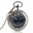 Luxury Watch Men Relogio Digital Steampunk Pocket Watch Clock Vintage Self Wind Clock