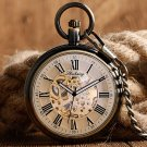 Luxury Auto Mechanical Nursing Clock Self Winding Pendant Pocket Watches With Chain