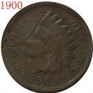 1 Pcs 1900 Indian head cents coin copy