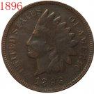 1 Pcs 1896 Indian head cents coin copy