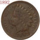 1 Pcs 1892 Indian head cents coin copy