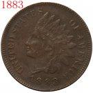 1 Pcs 1883 Indian head cents coin copy