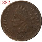 1 Pcs 1882 Indian head cents coin copy