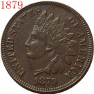 1 Pcs 1879 Indian head cents coin copy