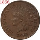1 Pcs 1866 Indian head cents coin copy