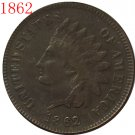 1 Pcs 1862 Indian head cents coin copy