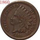 1 Pcs 1860 Indian head cents coin copy
