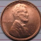 1 Pcs 1956-D Lincoln Penny Coins Copy 95% coper manufacturing