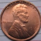 1 Pcs 1918 Lincoln Penny Coins Copy 95% coper manufacturing