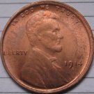 1 Pcs 1914-D Lincoln Penny Coins Copy 95% coper manufacturing