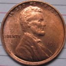 1 Pcs 1911 Lincoln Penny Coins Copy 95% coper manufacturing