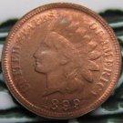 1 Pcs 1899 Indian head cents coin copy 100% coper manufacturing
