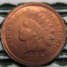 1 Pcs 1897 Indian head cents coin copy 100% coper manufacturing