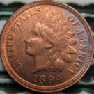 1 Pcs 1894 Indian head cents coin copy 100% coper manufacturing