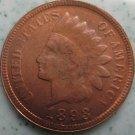 1 Pcs 1893 Indian head cents coin copy 100% coper manufacturing