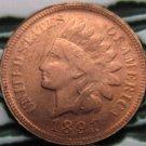 1 Pcs 1891 Indian head cents coin copy 100% coper manufacturing