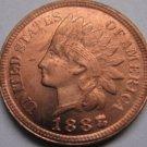 1 Pcs 1888/7 Indian head cents coin copy 100% coper manufacturing