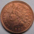 1 Pcs 1883 Indian head cents coin copy 100% coper manufacturing