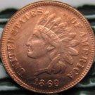 1 Pcs 1860 Indian head cents coin copy 100% coper manufacturing