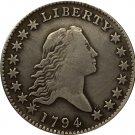 1 Pcs 1794 Flowing Hair Half Dollar COIN COPY