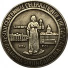 1 Pcs USA Dollar Columbia Sesquicentennial 1936 COIN COPY 30.6mm