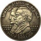1 Pcs USA Dollar Alabama Centennial 1921 COIN COPY 30.6mm
