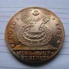 1 Pcs 1787 Fugio Large Cent Coins Copy 100% coper manufacturing