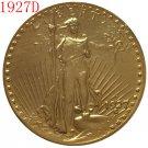 1 Pcs 1927-D $20 St. Gaudens Coin Copy