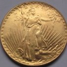 1 Pcs 1925-S $20 St. Gaudens Coin Copy 100% coper manufacturing gold-plated