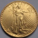 1 Pcs 1923 $20 St. Gaudens Coin Copy 100% coper manufacturing gold-plated