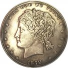 1 Pcs 1879 United States $1 Dollar coins COPY Type 2