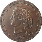 1 Pcs 1877 United States $1 Dollar coins COPY