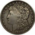 1 Pcs 1921 USA Morgan Dollar coins COPY