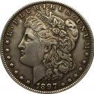 1 Pcs 1897 USA Morgan Dollar coins COPY