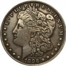 1 Pcs 1896 USA Morgan Dollar coins COPY