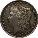 1 Pcs 1889-CC USA Morgan Dollar coins COPY