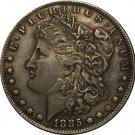 1 Pcs 1885-CC USA Morgan Dollar coins COPY