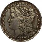 1 Pcs 1882-CC USA Morgan Dollar coins COPY