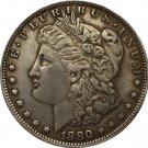 1 Pcs 1880 USA Morgan Dollar coins COPY