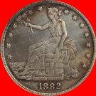 1 Pcs 1882 Trade Dollar COIN COPY