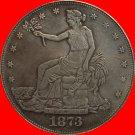 1 Pcs 1873-S Trade Dollar COIN COPY