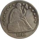 1 Pcs 1848 Seated Liberty Dollar COINS COPY
