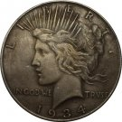 1 Pcs 1934 Peace Dollar COIN COPY